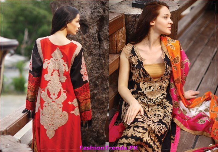 Lakhany Silk Mills Mid Summer Lawn Collection 2012