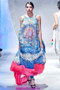Lala Textiles Summer Collection in PFW London 2012
