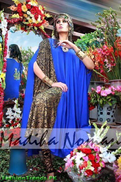 Madiha Noman Shahi Casual Dresses 2012
