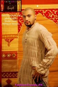 Satrangi by Saqib Men Eid Collection 2012