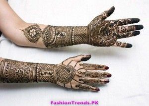 Bridal Mehndi Designs for Girls 2012