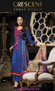 Crescent Lawn Eid Collection 2012
