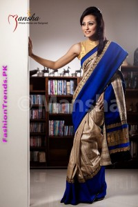 Mansha Saree Collection for Women 2012