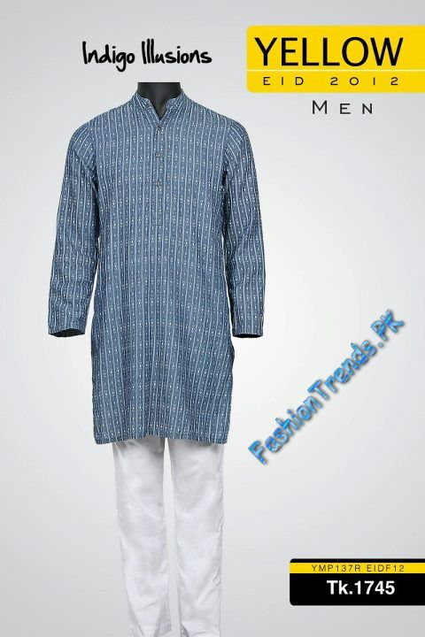 Men Yellow Eid Collection 2012