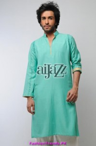 Aijazz Men Summer Kurta Shalwar 2012