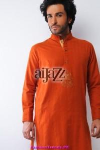 Aijazz Men Summer Kurta Shalwar 2012