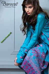 Bareeze Embroidered Collection 2012