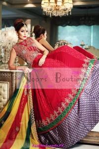 Noorz Boutique Mehndi Dresses 2012
