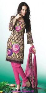 Shalwar Kameez Casual Printed Collection 2012