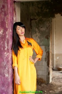 Teena by Hina Butt Kurtas Collection 2012