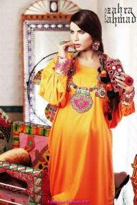 Zahra Ahmad Monsoon Collection 2012