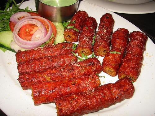 Aromatic Behari Seekh Kabab