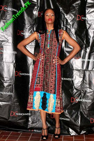 Ashraf Villiani In Vogue at DC Fashion Week 2012