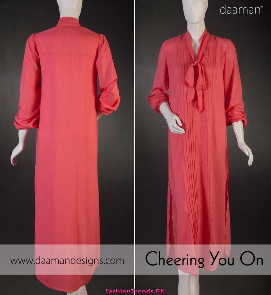 Daaman Fall Casual Women Dresses 2012 0 Comments