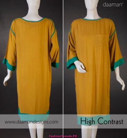 Daaman Fall Casual Women Dresses 2012