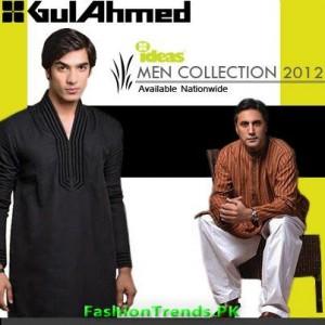 Gul Ahmed Men's Kurta Shalwar Collection 2012