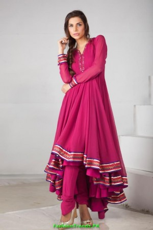 Ishtiaq Afzal Formal Wear Dresses 2012