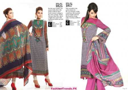 Ittehad Retro Women Collection 2012