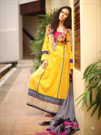 LSM Fabrics Women Winter Collection 2012
