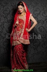 Mansha Women Bridal Wear Collection 2012