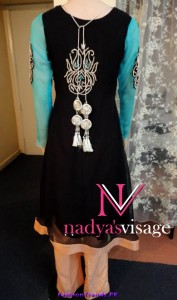Nadya Visage Party Wear Collection 2012
