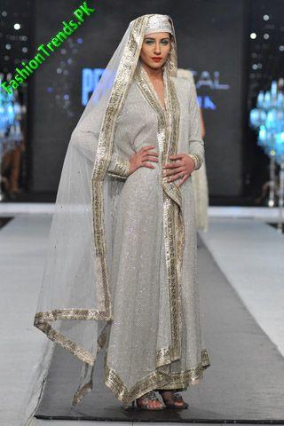Nida Azwer at L'Oreal Paris Bridal Week 2012