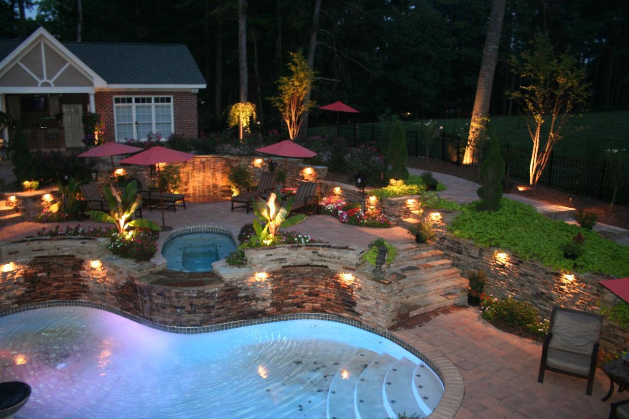 outdoor lighting ideas awesome modern landscape lighting design ideas bringing