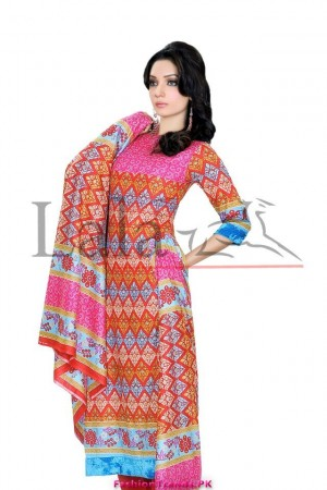 Sana And Samia Mid Summer Cotton Collection 2012