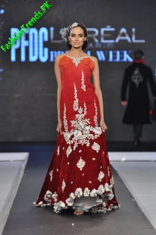 Teena by Hina Butt at L'Oreal Paris Bridal Week 2012