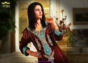 Vibgyor by Syra Party Wear Dresses 2012