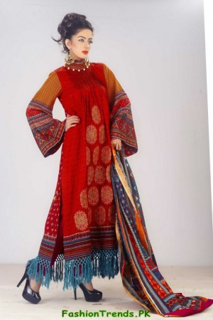 Al-Hamra Daisy Laurel Winter Dresses 2012