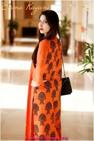 Bisma Kayani Latest Party Wear Collection 2012