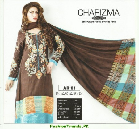 Charizma Winter Collection Dresses 2012