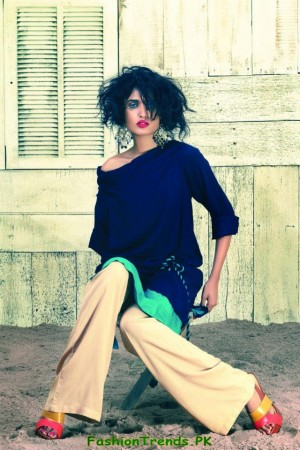 Daaman Western Wear Women Collection 2012