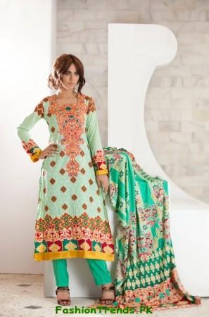 Firdous Winter Dresses 2012