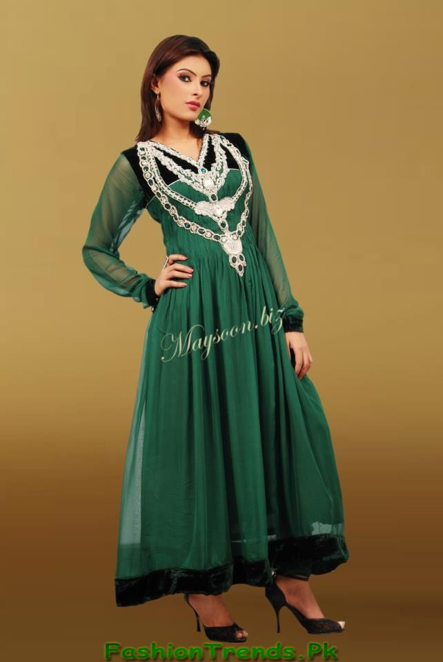 Winter Formal Wear 2012 For Women By Maysoon Fashion 2017
