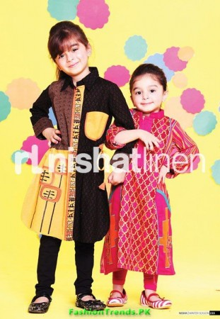 Nishat Linen Kids Winter Wear 2012