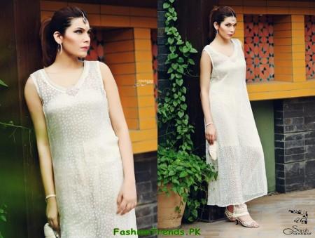 Sarah Gandapur Semi-Formal Dresses 2012
