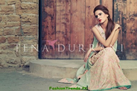 Tena Durrani Party Wear Collection 2012
