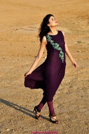 Umsha by Uzma Babar Winter Dresses 2012