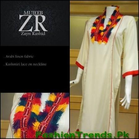 Zayn Rashid Women Winter Collection 2012-13