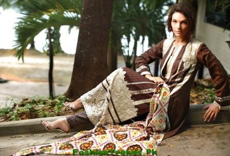 Bonanza Designer Winter Dresses 2012