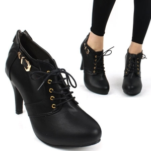 Buckle and Lace shoes