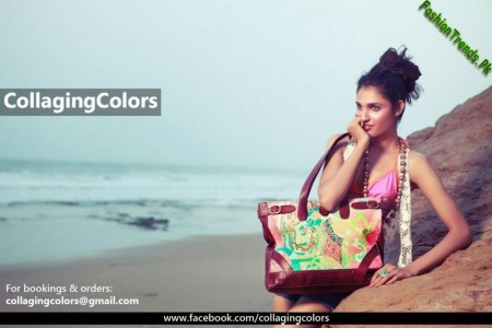 Collaging Colors Handbags Collection 2012