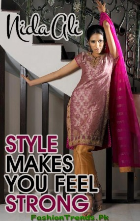 Nida Ali Latest Formal Dresses 2012