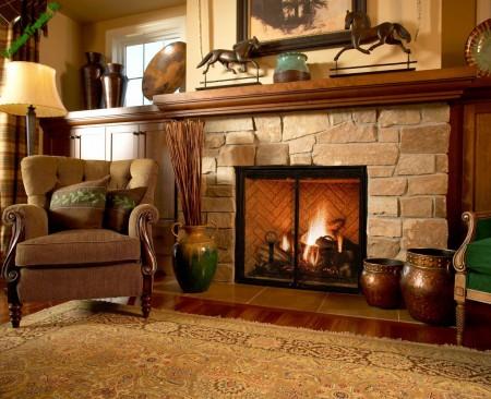 Pioneer Fireplace Design