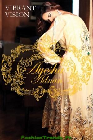 Ayesha Adnan Winter Dresses 2013