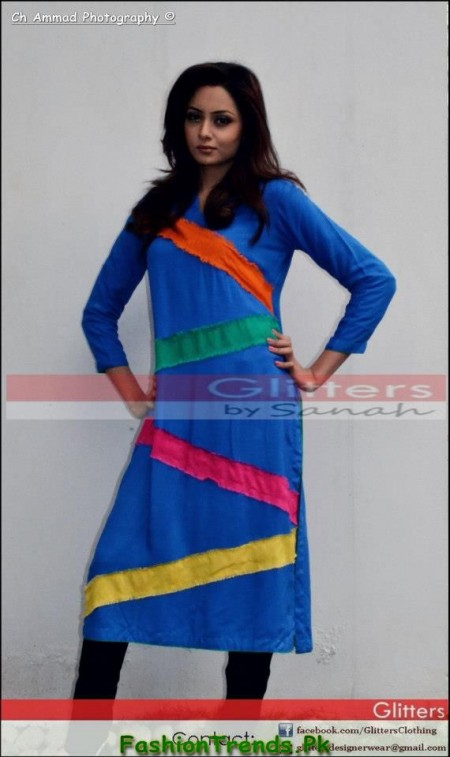 Glitters Winter Casual Dresses 2013
