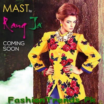 Winter Dresses 2013 by Rang Ja