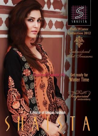 Shaista Winter Discharge Print Collection 2013
